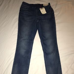 BRAND NEW Lands End Mid rise skinny jean